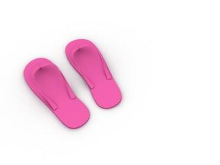 Fancy Pink Slipper