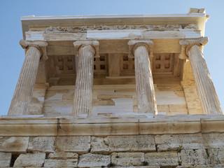 Athena Nike temple, Acropolis, Athens Greece