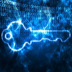 key and binary code password