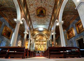 The Church of Santa Maria in Obidos, Portugal