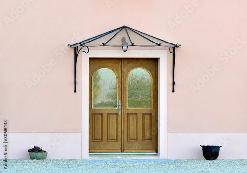 marquise de porte photo libre de droits sur la banque d 39 images image 30618433. Black Bedroom Furniture Sets. Home Design Ideas