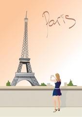 taking picture paris