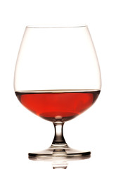 glass og cognac