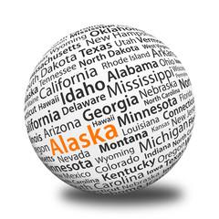 Word Ball - Alaska