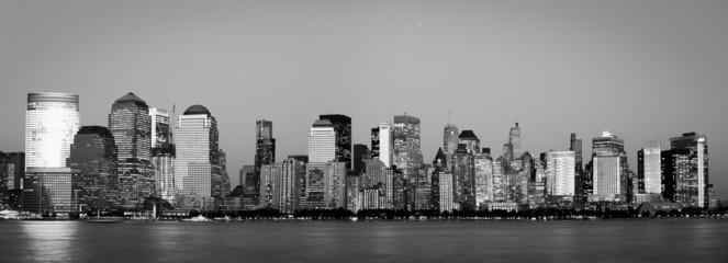 Manhattan Financial District from Jersey city