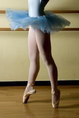 ballerina classica sulle punte