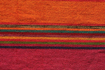 Colorful Indian textile