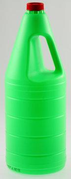 bidon vert d'eau de javel