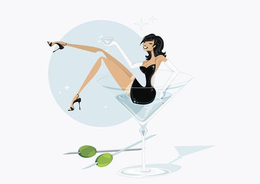martini girly