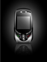 modern mobile phone, slider