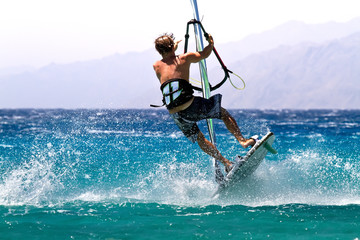 windsurfing freestyle