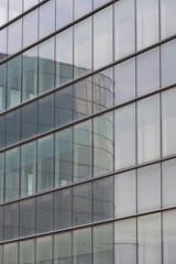 vetrata e riflessi