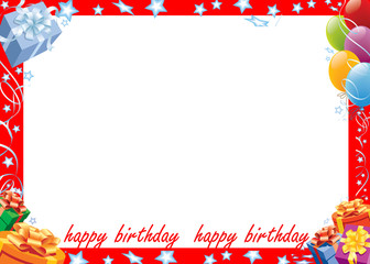 Birthday Kids Photo Frame Buy This Stock Illustration And Explore