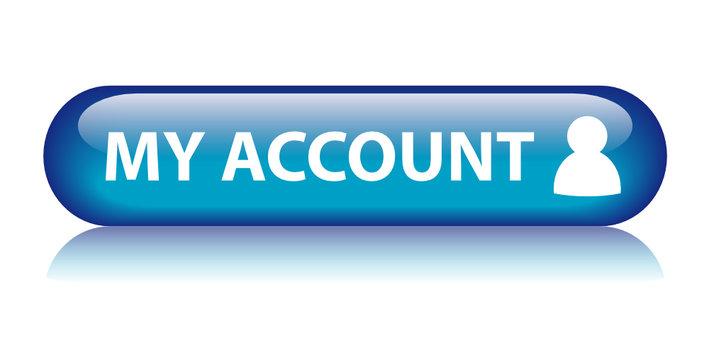 MY ACCOUNT Web Button (profile user setup login online options)