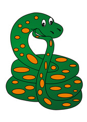 The Pensive snake