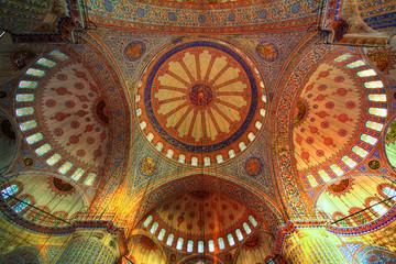 Golden mosque - interior ( Yeni Camii )