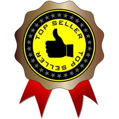 top seller label