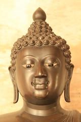 Buddha image at Benchamabophit in Bangkok, Thailand