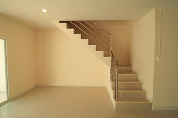 New home with a beautiful staircase