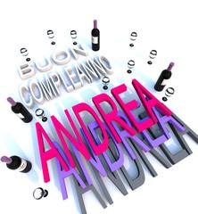Buon compleanno Andrea