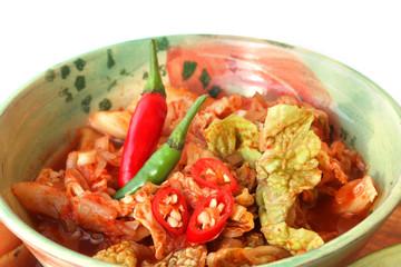 Scharfes Kimchi