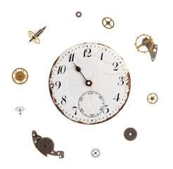 Details of the clockwork