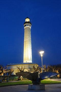 le phare historique de Biarritz