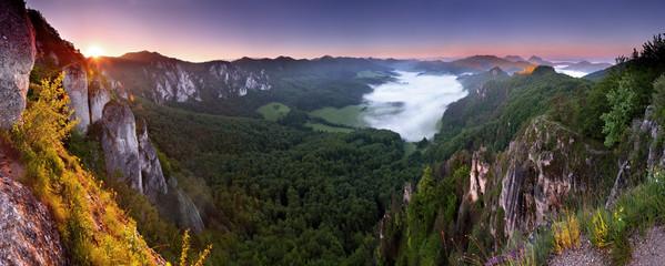 view of sulov - highlands from sulov rockies