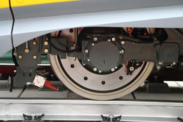modern train wheel