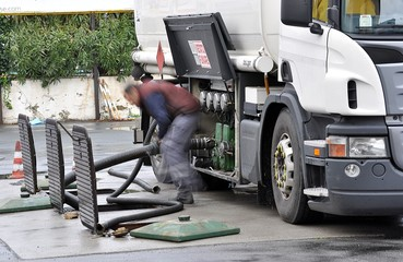 Scarico benzine