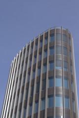 futuristisches Bürogebäude in Berlin-Mitte