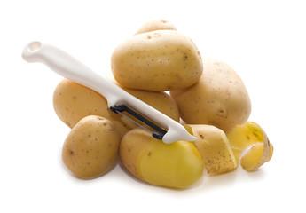 patate con tagliapatate