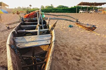 Boat in Goa