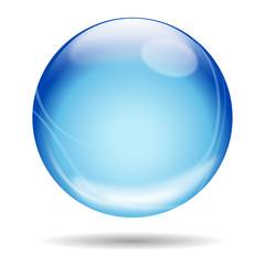 Flying ball _ blue