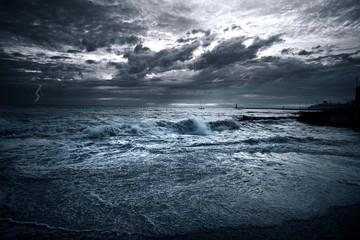 Fototapeta sea storm obraz