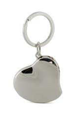 Gift keychain in heart shape