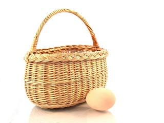 Basket and egg