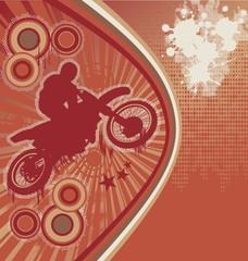 Biker Grunge Poster Vector 5