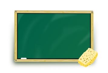 Tafel grün leer