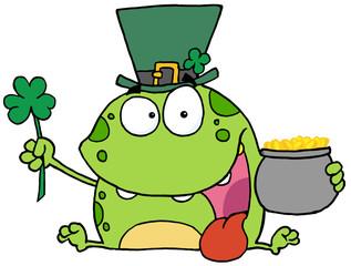 Leprechaun Frog