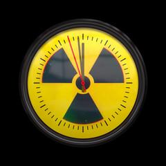 radioactive clock