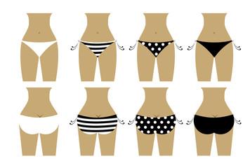 Bikini bottom design