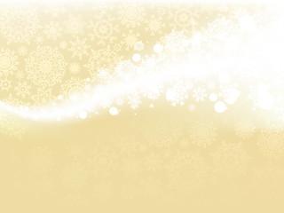 Gold winter background
