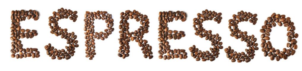 Wall Murals Coffee beans Uno espresso
