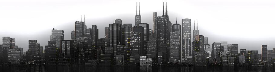 skyline gloomy
