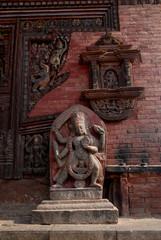 Hindu Deity at Changu Narayan temple 1.