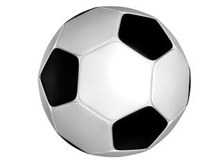 3d soccer ball.