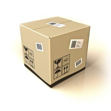 Paket mit Barcode - 15