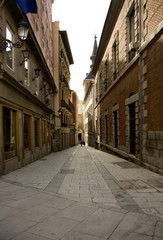 The Madrid street