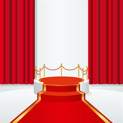 podium - estrade - tapis rouge - escalier - cinéma - présentation - star - festival